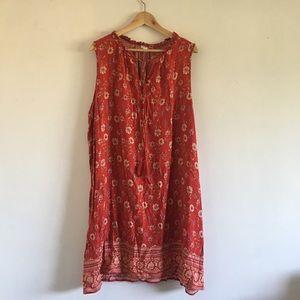 XHILARATION DRESS 2X